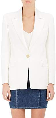 Balmain Women's Elongated One-Button Jacket - White