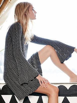 Bella Sweater Mini Dress by Free People $148 thestylecure.com