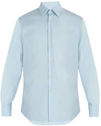 Prada Classic-fit stretch-poplin shirt
