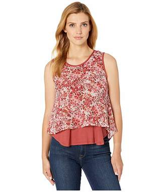 Bobeau B Collection by Sydney Double Layer Tank