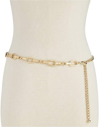 INC International Concepts I.N.C. Metal Chain Belt, Created for Macy's