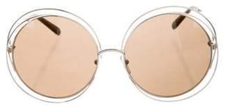 Chloé Carlina Oversize Sunglasses w/ Tags