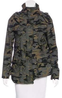 Veronica Beard Wool-Blend Short Coat