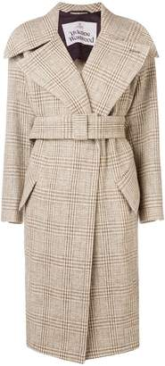 Vivienne Westwood checkered trench coat