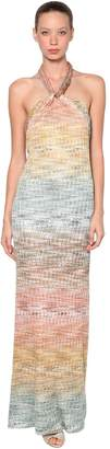 Missoni Long Jersey Knit Knot Dress