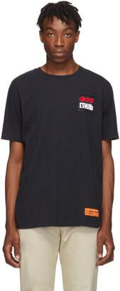 Heron Preston Black Style Dots Regular T-Shirt