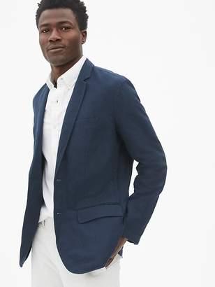 Gap Casual Classic Blazer in Linen-Cotton