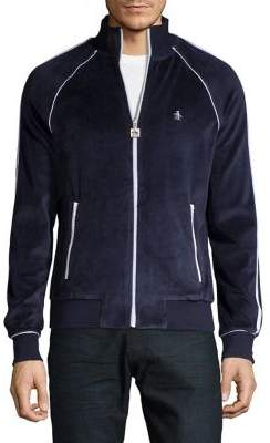Original Penguin The Earl Velour Track Jacket