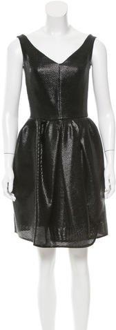 CarvenCarven Woven Mini Dress