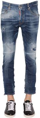 DSQUARED2 16cm Skater Stretch Denim Jeans