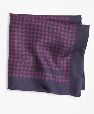 Brooks Brothers Houndstooth Pocket Square