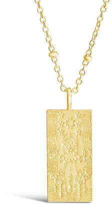 Sterling Forever Tarot Card Pendant Necklace
