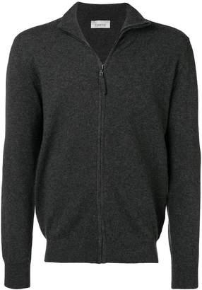 Laneus zip front cardigan