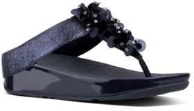 FitFlop Boogaloo TM Embellished Leather Sandals