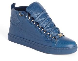 Women's Balenciaga High Top Sneaker $645 thestylecure.com