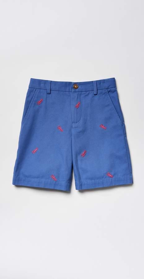 Boys' Oliver Shorts in Lobster