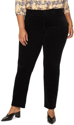 NYDJ Marilyn Straight Leg Corduroy Pants