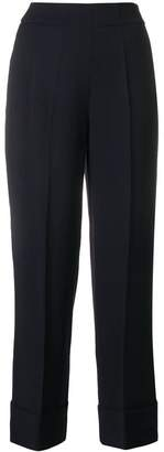 Incotex by Slowear wide leg cropped trousers