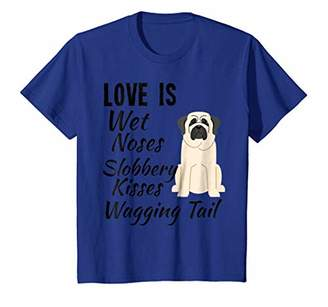 I love My Dog T-Shirt Mastiff Dog