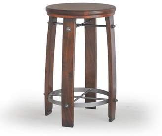 Carolina Chair and Table Palmer Barrel 24 in. Counter Stool