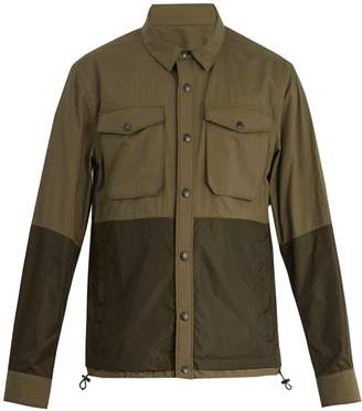 Moncler Ander point-collar cotton jacket
