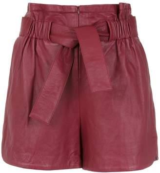 Cruise Pipa leather shorts