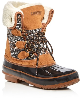 Khombu Julliard Cold Weather Boots $109 thestylecure.com