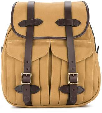 Filson leather straps rucksack