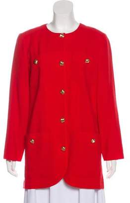 Valentino Crew Neck Short Coat