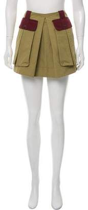 Proenza Schouler Mini Military Skirt