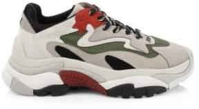 Ash Addict Mix Media Sneakers