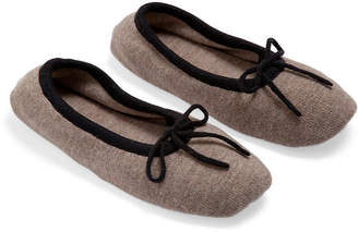 A & R Cashmere A&R Cashmere Merino Wool Slippers - Sand - a&R Cashmere