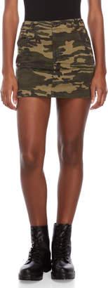 Wild Honey Camo Mini Skirt
