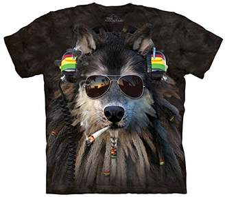 The Mountain Smoking Rasta Wolf