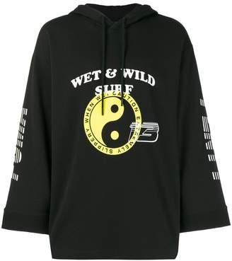 FENTY PUMA by Rihanna gathered hoodie