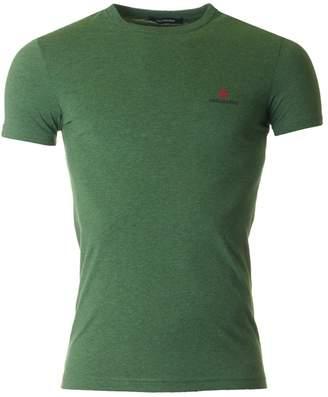 DSQUARED2 Maple Leaf Crew Neck T-shirt