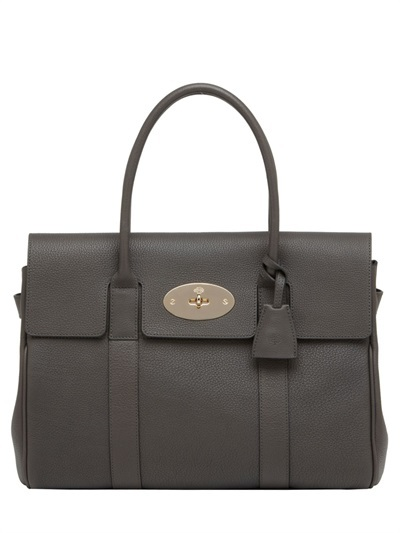 Mulberry Bayswater Grained Leather Top Handle