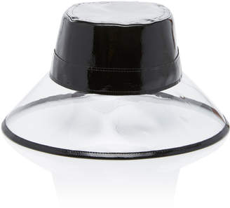 Eric Javits Go-Go Patent Leather and PVC Bucket Hat