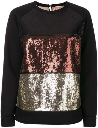 22f2725b188e No.21 Black Sweats & Hoodies For Women - ShopStyle UK