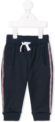 Tommy Hilfiger Junior logo trim track pants