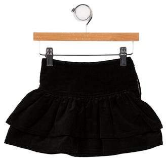 Christian Dior Girls' Layered Corduroy Skirt