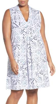 Tart 'Tara' Print Jersey A-Line Dress