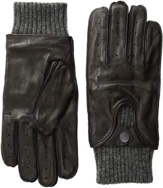 Ben Sherman Men's Leather Driving Glove