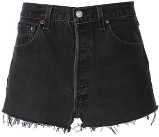 Re/Done denim shorts $175 thestylecure.com