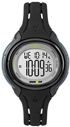 Timex Women's TW5M13700 Ironman Sleek 50 Oval Silicone Strap Watch