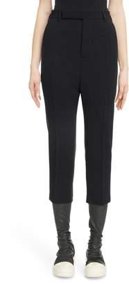 Rick Owens Wool Crop Pants