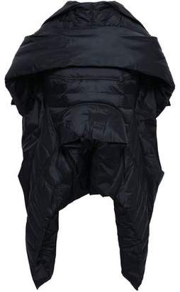 Rick Owens Cape-effect Shell Down Jacket