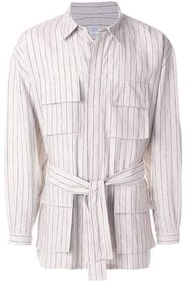 E. Tautz striped Ralph jacket