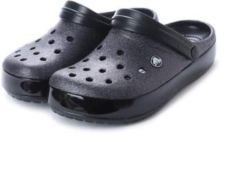 Crocs (クロックス) - クロックス crocs クロッグサンダル Crocband Glitter Clog 205419-001