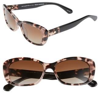 Kate Spade Claretta 53mm Polarized Sunglasses